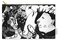 Love Truth Peace Carry-all Pouch