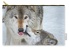 Carry-all Pouch featuring the photograph Love You Dad.. by Nina Stavlund