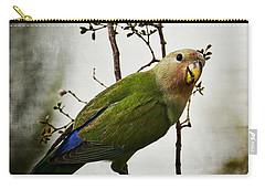 Lovebird  Carry-all Pouch by Saija  Lehtonen