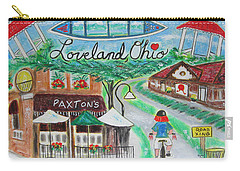 Carry-all Pouch featuring the painting Loveland Ohio by Diane Pape