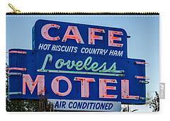 Loveless Cafe And Motel Sign Carry-all Pouch