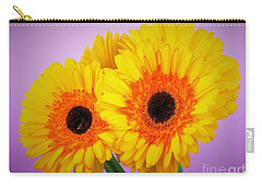 Lovely And Beautiful - Gerbera Daisies Carry-all Pouch