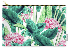 Lovely Botanical Carry-all Pouch