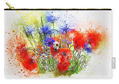 Watercolour Bouquet Carry-all Pouch