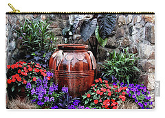 Carry-all Pouch featuring the photograph Lovely Garden  by Trina Ansel