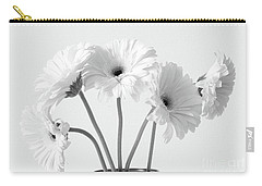 Carry-all Pouch featuring the photograph Lovely Gerberas by Anita Oakley
