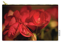 Lovely In Red Carry-all Pouch