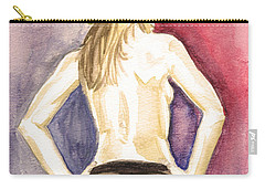 Lovely Latin Girls Carry-all Pouch by Alban Dizdari