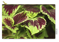 Lovely Leaves Carry-all Pouch