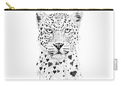 Lovely Leopard Carry-all Pouch