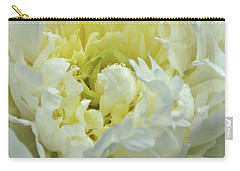 Carry-all Pouch featuring the photograph Lovely Peony by Sandy Keeton