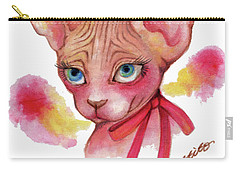 Lovely Sphynx Carry-all Pouch