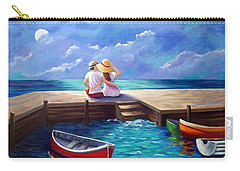 Lovers In The Moonlight Carry-all Pouch