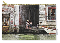 Lovers In Venice Carry-all Pouch