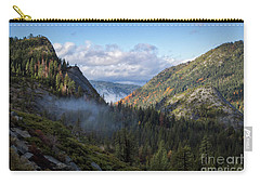 Carry-all Pouch featuring the photograph Lovers Leap Autumn by Mitch Shindelbower