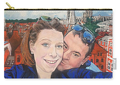 Lovers Selfie In York, England Carry-all Pouch