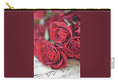 Carry-all Pouch featuring the photograph Love's Music by Diane Alexander