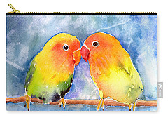 Lovebird Carry-all Pouches