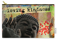 Loving Kindness. Buddha Carry-all Pouch