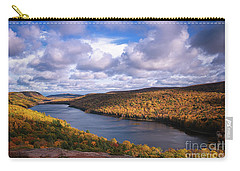 Loving Lake Of The Clouds Carry-all Pouch by Rachel Cohen