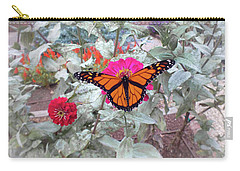 Loving The Zinnias Carry-all Pouch