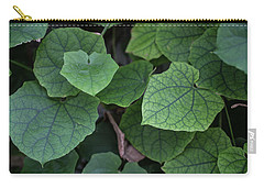 Low Key Green Vines Carry-all Pouch by Jingjits Photography