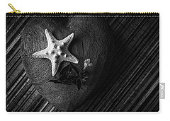 Low Key Heart And Starfish Carry-all Pouch