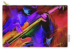 Carry-all Pouch featuring the painting Low Rider by DC Langer