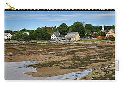 Carry-all Pouch featuring the photograph Low Tide At St. Andrews By The Sea by Gary Hall
