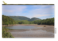 Carry-all Pouch featuring the photograph Low Tide In Acadia by Living Color Photography Lorraine Lynch