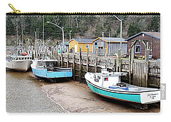 Low Tide In St. Martins Carry-all Pouch