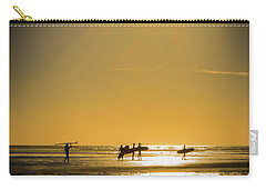 Carry-all Pouch featuring the photograph Low Tide by Mitch Shindelbower