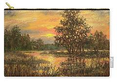 Lowcountry Sky Carry-all Pouch by Kathleen McDermott
