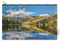 Lower Cataract Lake Aspen Carry-all Pouch by Stephen Johnson