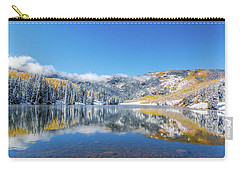 Lower Cataract Lake Fall Snow Scene Carry-all Pouch