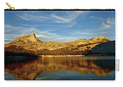 Lower Cathedral Lake Late Afternoon Carry-all Pouch by Amelia Racca