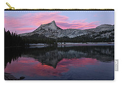 Lower Cathedral Lake Sunset Carry-all Pouch by Amelia Racca