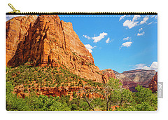 Carry-all Pouch featuring the photograph Lower Emerald Pool Trail - Zion National Park by Penny Lisowski