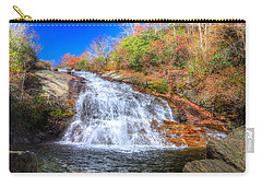 Lower Falls At Graveyard Fields Carry-all Pouch