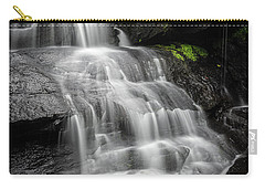Lower Falls Cascade At Triple Falls Carry-all Pouch