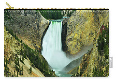 Lower Falls No Border Or Caption Carry-all Pouch