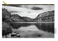 Carry-all Pouch featuring the photograph Lower Lake At Glendalough, County Wicklow - Ireland by Barry O Carroll