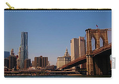 Lower Manhattan Nyc Carry-all Pouch