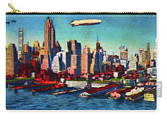 Lower Manhattan Skyline New York City Carry-all Pouch