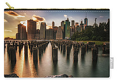 Lower Manhattan Sunset Twinkle Carry-all Pouch