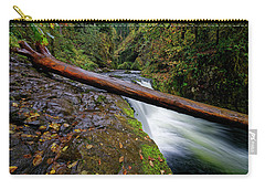 Lower Punch Bowl Falls Carry-all Pouch by Jonathan Davison