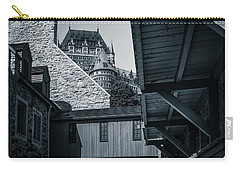Carry-all Pouch featuring the photograph Lower Town Back Alley  by Chris Bordeleau