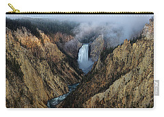 Lower Yellowstone Falls Sunrise Carry-all Pouch