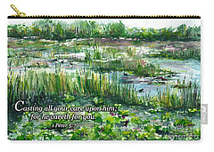 Loxahatchee Marsh 1 Peter 5 Carry-all Pouch