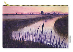 Loxahatchee Sunset Carry-all Pouch by Donna Walsh